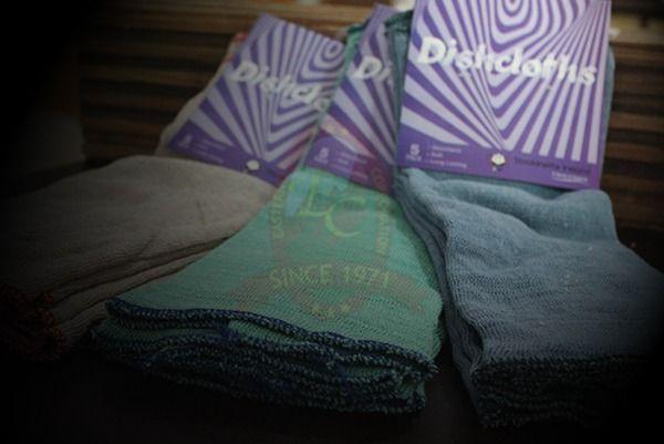 Dyed Dish Cloth