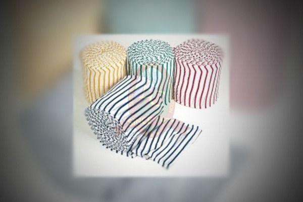 Stockinette Color Stripe Roll